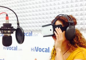 Realidad virtual en HiVocal